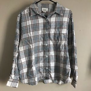 Comfy Tan Flannel Button Down